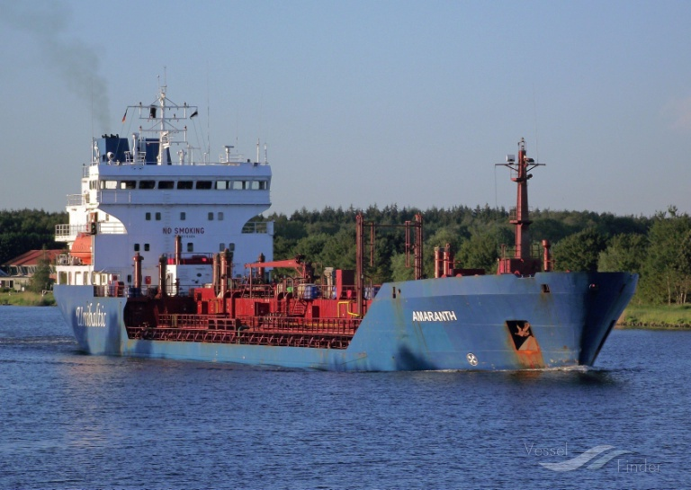 AMARANTH (MMSI: 576321000) ; Place: Kiel_Canal
