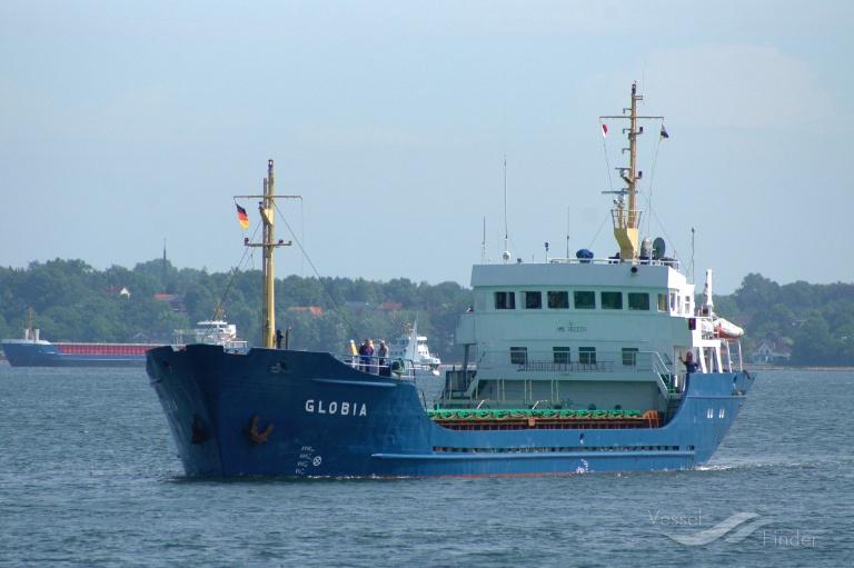 GLOBIA (MMSI: 377455000) ; Place: Kiel - Holtenau, Germany