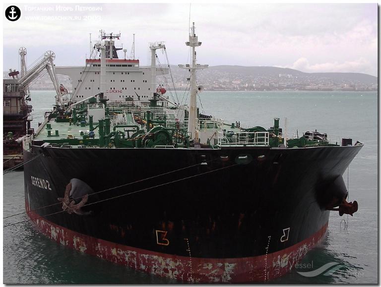 ZHEN HUA 20 (MMSI: 375541000) ; Place: Oil Terminal SHESKHARIS, port Novorossiysk, Russia.