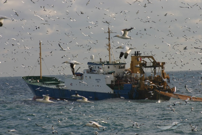 F/V SANDETTIE (MMSI: 227303000) ; Place: English Channel