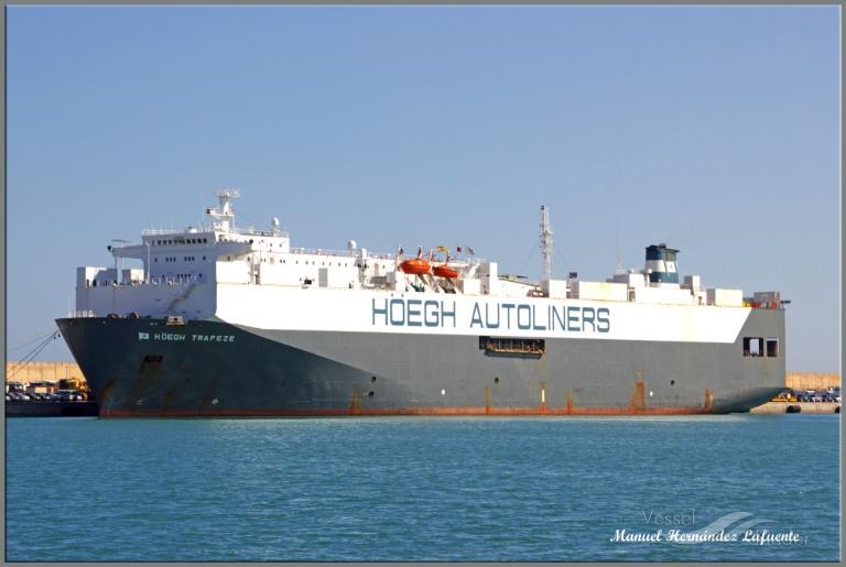 Φωτογραφία του πλοίου HOEGH TRAPEZE