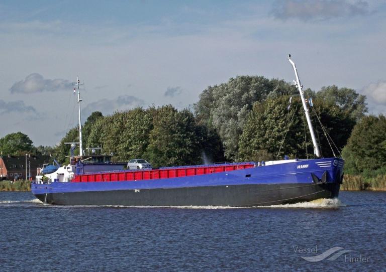 JEANNY (MMSI: 244719000) ; Place: Kiel_Canal