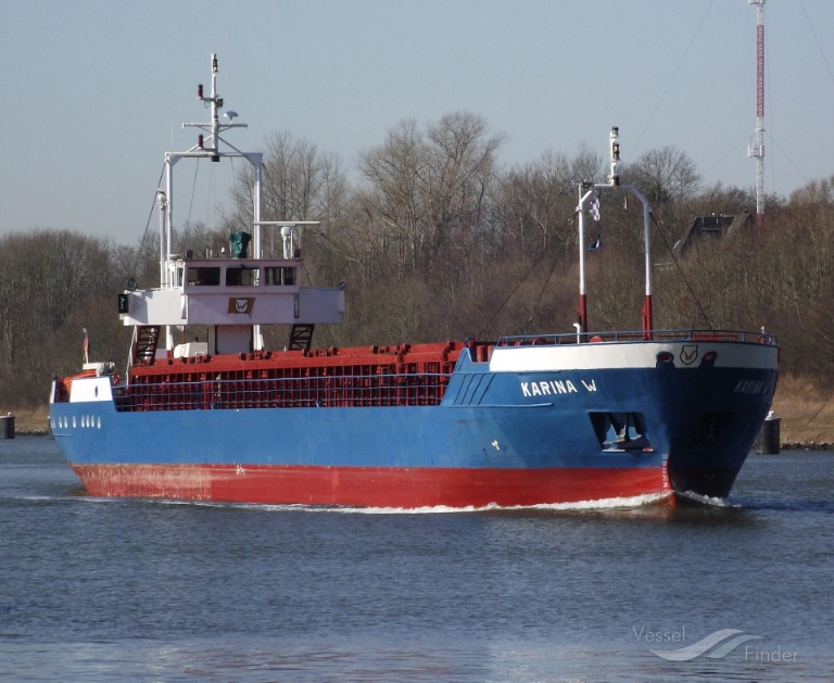 HOGELAND (MMSI: 218439000) ; Place: Kiel_Canal/ Germany