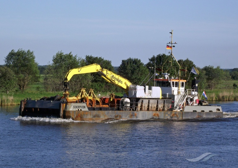 SCHORPIOEN (MMSI: 245735000) ; Place: Kiel_Canal/ Germany