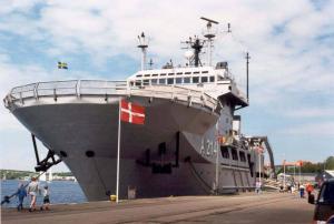 Photo of SWEDISH NAVY A214 ship