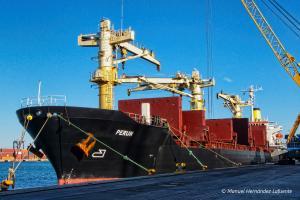 Photo of PERUN ship