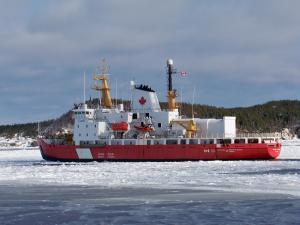 Photo of CCGS HENRY LARSEN ship