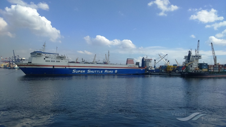 SUPER SHUTTLE RORO 8, Ro-Ro Cargo Ship - Details and current