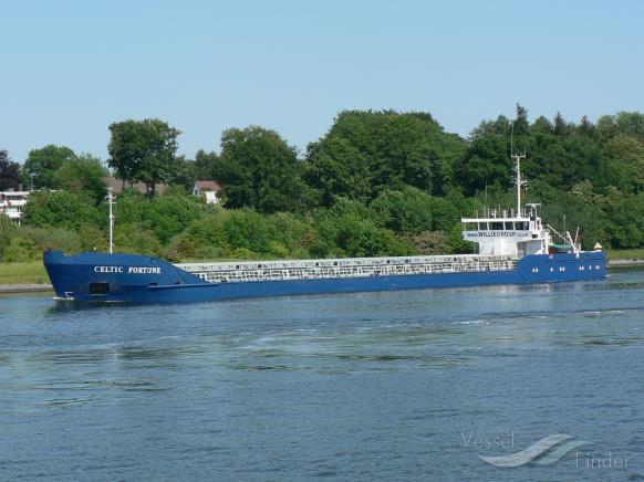 FORTUNE (MMSI: 577276000) ; Place: Kiel Canal