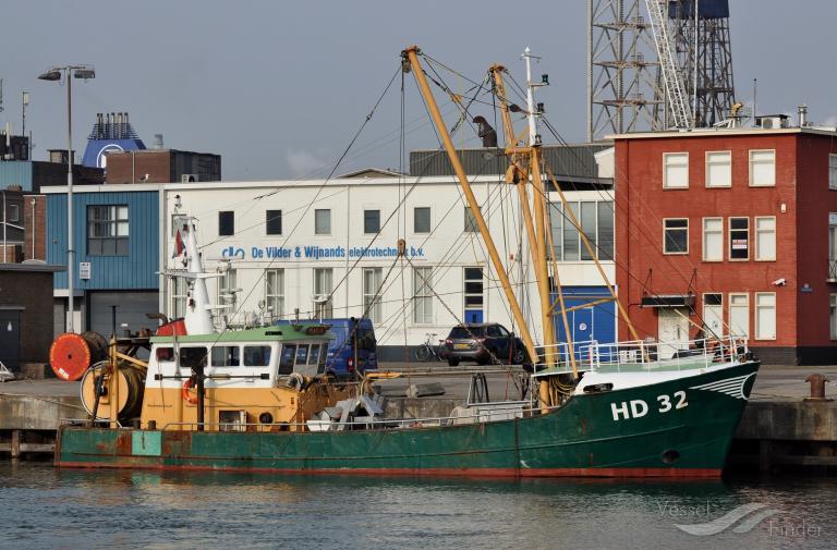 HD32 KLAASJE (MMSI: 245348000) ; Place: IJmuiden