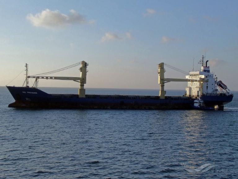 FAS PROVENCE (MMSI: 308591000) ; Place: ..at sea