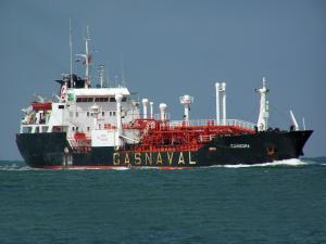 Photo of VIRGO GAS ship