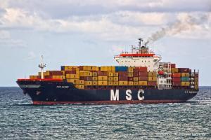 Photo of MSC HANNE ship