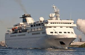 Photo of mv Voyager ship