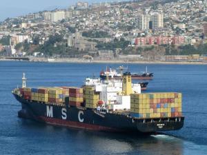 Photo of MSC ALICE ship