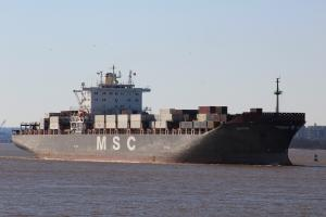 Photo of MSC PILAR ship