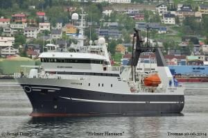 Photo of FF HELMER HANSSEN ship