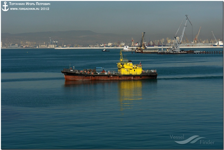 BAKLAN (MMSI: 0) ; Place: Oil Terminal SHESKHARIS, port Novorossiysk, Russia.