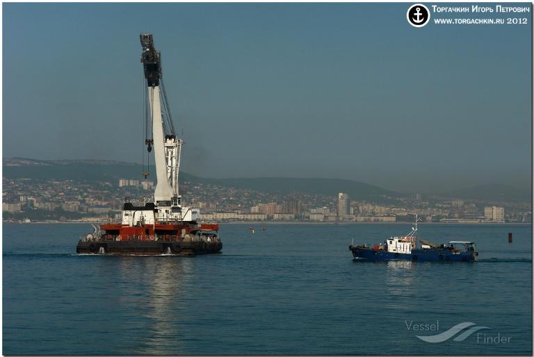ALEKSANDR CHERNOUSOV (MMSI: 273343130) ; Place: Port Novorossiysk, Russia.