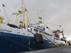Photo of LAZURNYY ship