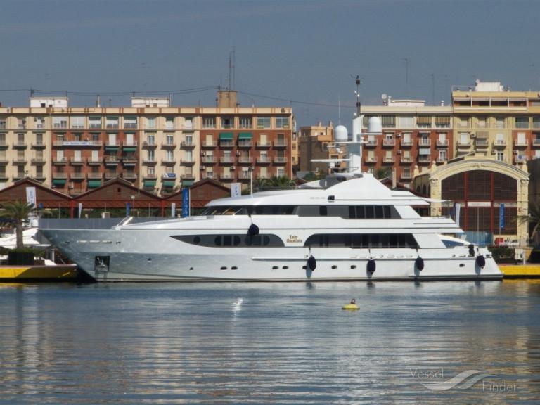 LADY ANASTASIA (MMSI: 377423000) ; Place: Valencia