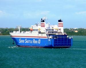 Photo of SUPERSHUTTLE RORO 10 ship