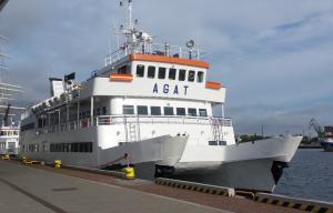 Photo of AGAT ship