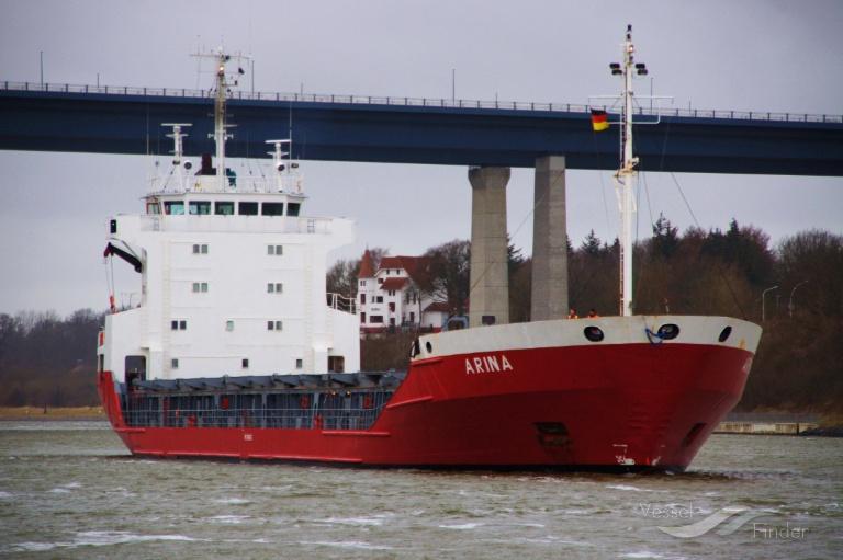 ARINA (MMSI: 277334000) ; Place: Kiel - Holtenau, Germany