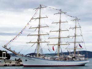 Photo of STS NADEZHDA ship