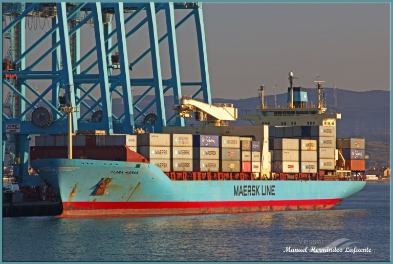 CLARA MAERSK photo