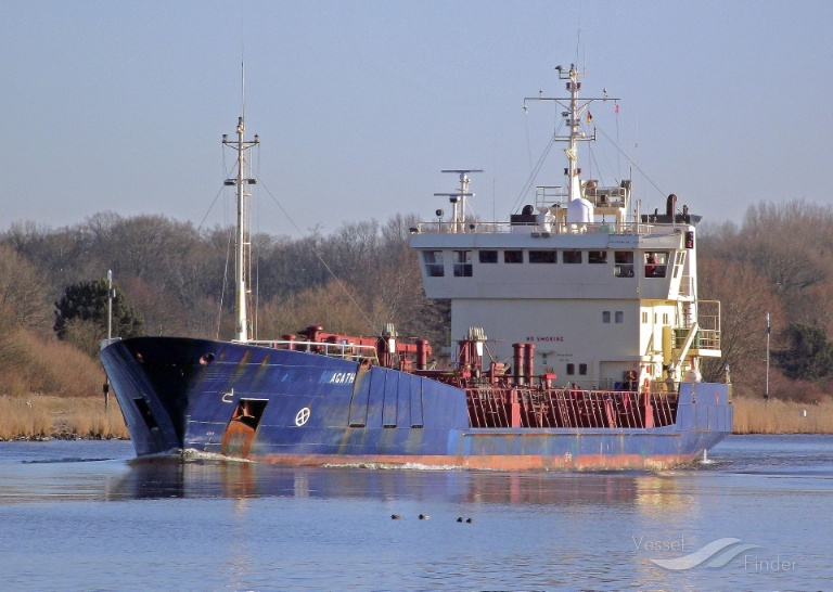 AGATH (MMSI: 209562000) ; Place: Kiel_Canal