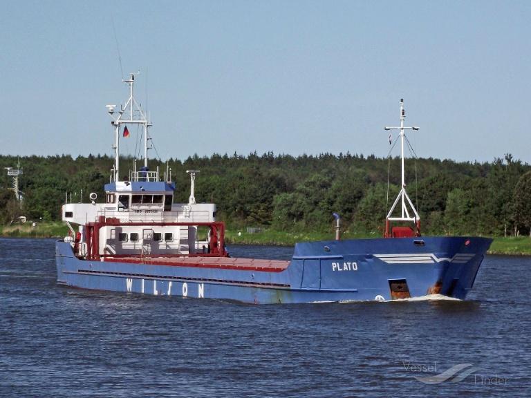 PLATO (MMSI: 314189000) ; Place: Kiel_Canal