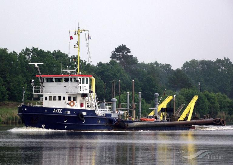 AKKE (MMSI: 211233270) ; Place: Kiel_Canal