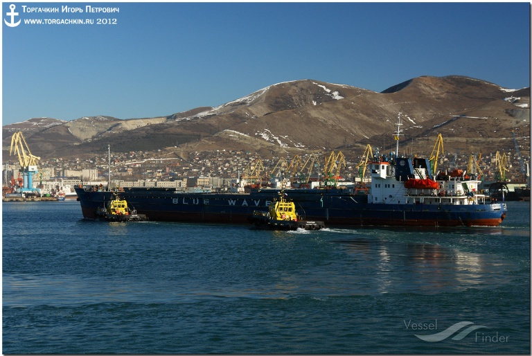 SAPPHIRE (MMSI: 273449370) ; Place: Port Novorossiysk, Russia.