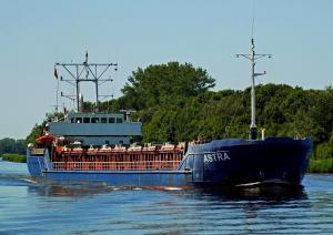 Photo of ASTRA 1 ship