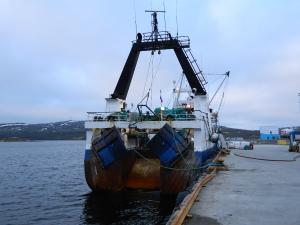 Photo of VITUS BERING ship
