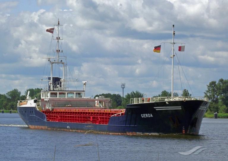 GERDA (MMSI: 275343000) ; Place: Kiel_Canal