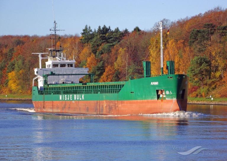 ANMI (MMSI: 311938000) ; Place: Kiel_Canal/ Germany