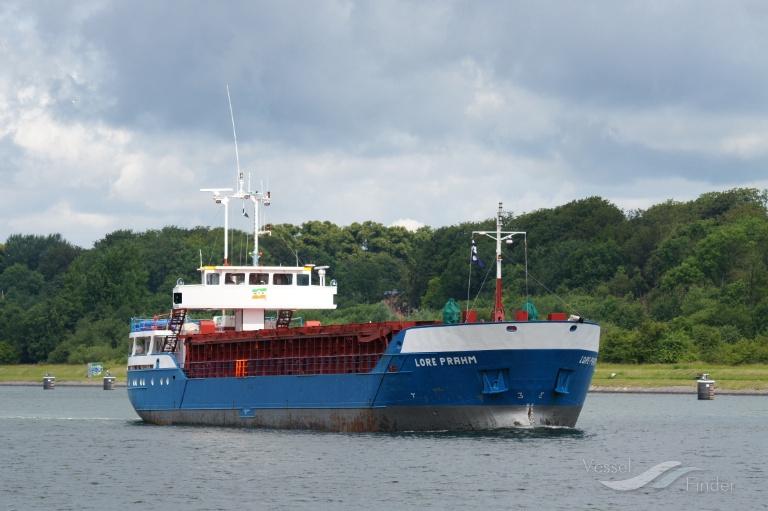 LORE PRAHM (MMSI: 218706000) ; Place: Kiel Canal, Germany