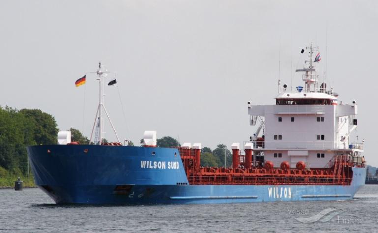 WILSON SUND (MMSI: 212795000) ; Place: Kiel Canal, Germany