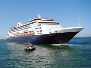 Photo of ms Maasdam ship