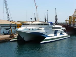 Photo of NAXOS JET ship