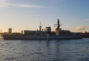 Photo of HMS WESTMINSTER ship