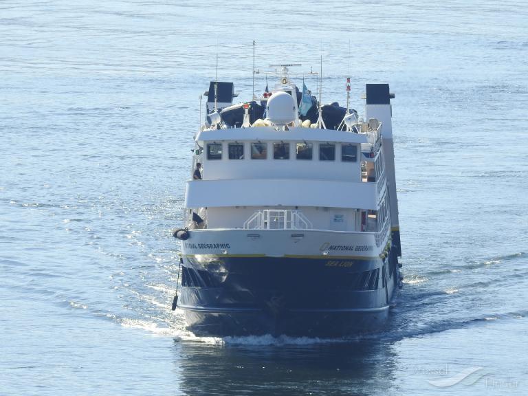 NAT GEO   SEA LION (MMSI: 366396000)
