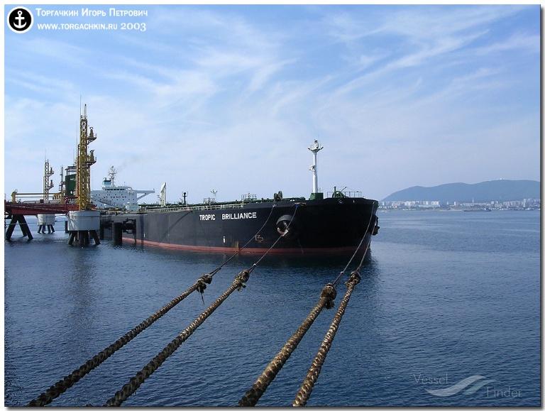 GRAND HORIZON (MMSI: 441700000) ; Place: Oil Terminal SHESKHARIS, port Novorossiysk, Russia.