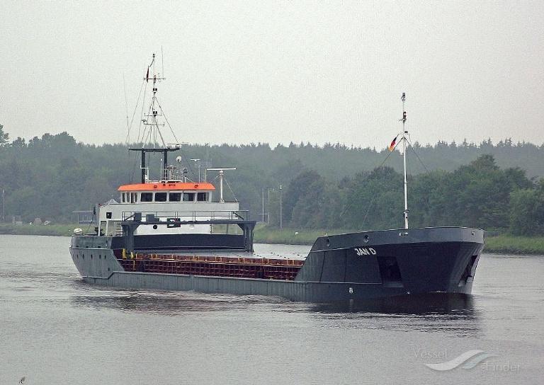 JAN D (MMSI: 305286000) ; Place: Kiel_Canal
