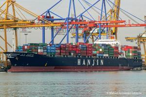 Photo of HANJIN MARSEILLES ship