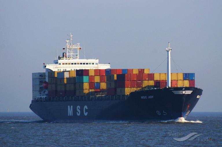 MSC JOY (MMSI: 356037000) ; Place: Cuxhaven, Germany