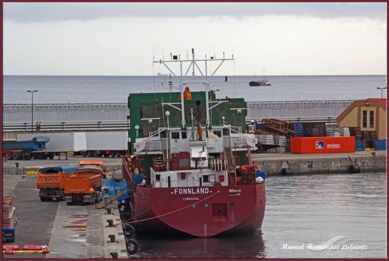 FONNLAND (MMSI: 209950000) ; Place: Ceuta
