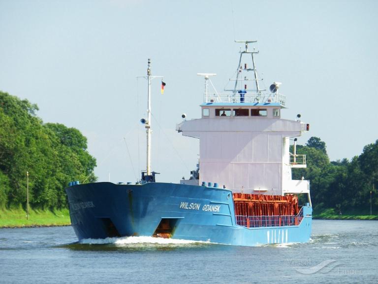 WILSON GDANSK (MMSI: 314191000) ; Place: Kiel Canal, Germany
